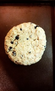 Blueberry Peppercorn Goat Cheese Biscuits.